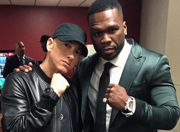 50 Cent Comments On Eminem's Major Recording Milestone